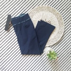 Casall Dark Blue Work Out Crop Pants Size Small